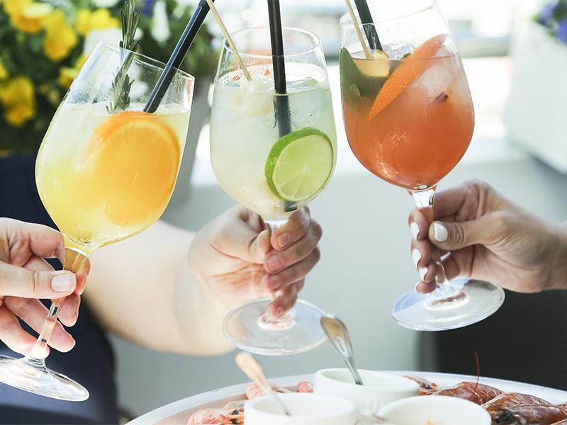 De lekkerste cocktails Restaurant Comer