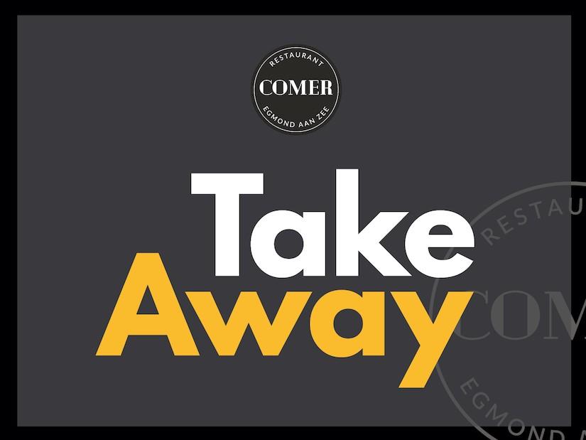 Take Away Menukaart
