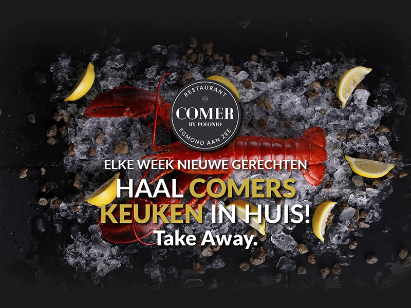 TAKE AWAY! HAAL COMER'S KEUKEN IN HUIS